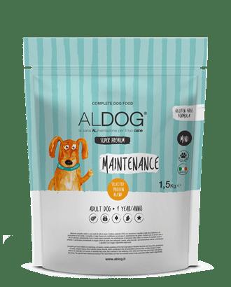 sacco 1,5kg aldog maintenance fronte