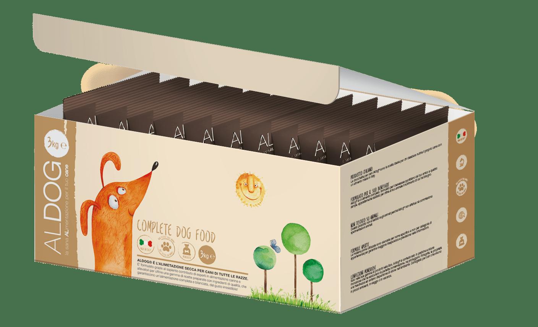 scatola aperta bobine marroni